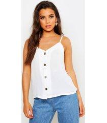 geweven hemdje met knopen, wit
